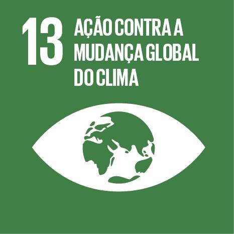 ODS 13 Ação contra a mudança global do clima