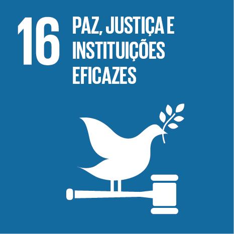 ODS 16 Paz, Justiça e Instituições Eficazes